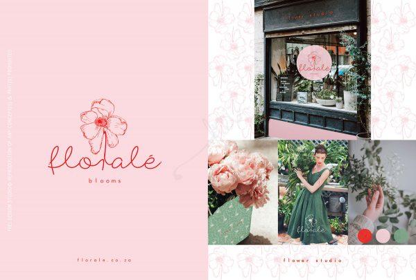 Florale Logo Frei Design Studio
