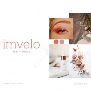 Imvelo skin and beauty logo frei design studio